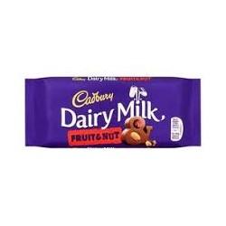 Cadbury Dairy Milk Fruit 110g