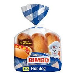 Bimbo Hot Dog x6