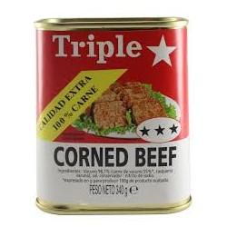 Triple Estrella Corned beef...